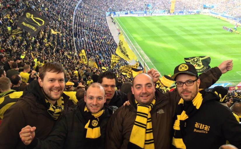 Volksparkstadion: Hamburger SV – BVB 07.03.2015