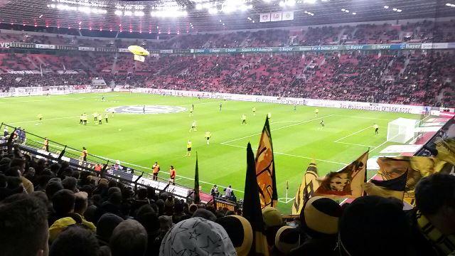 Auswärts in Leverkusen am 31.01.2015