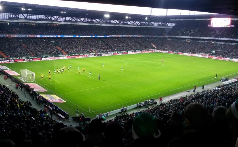 SV Werder Bremen – Borussia Dortmund 20.12.2014