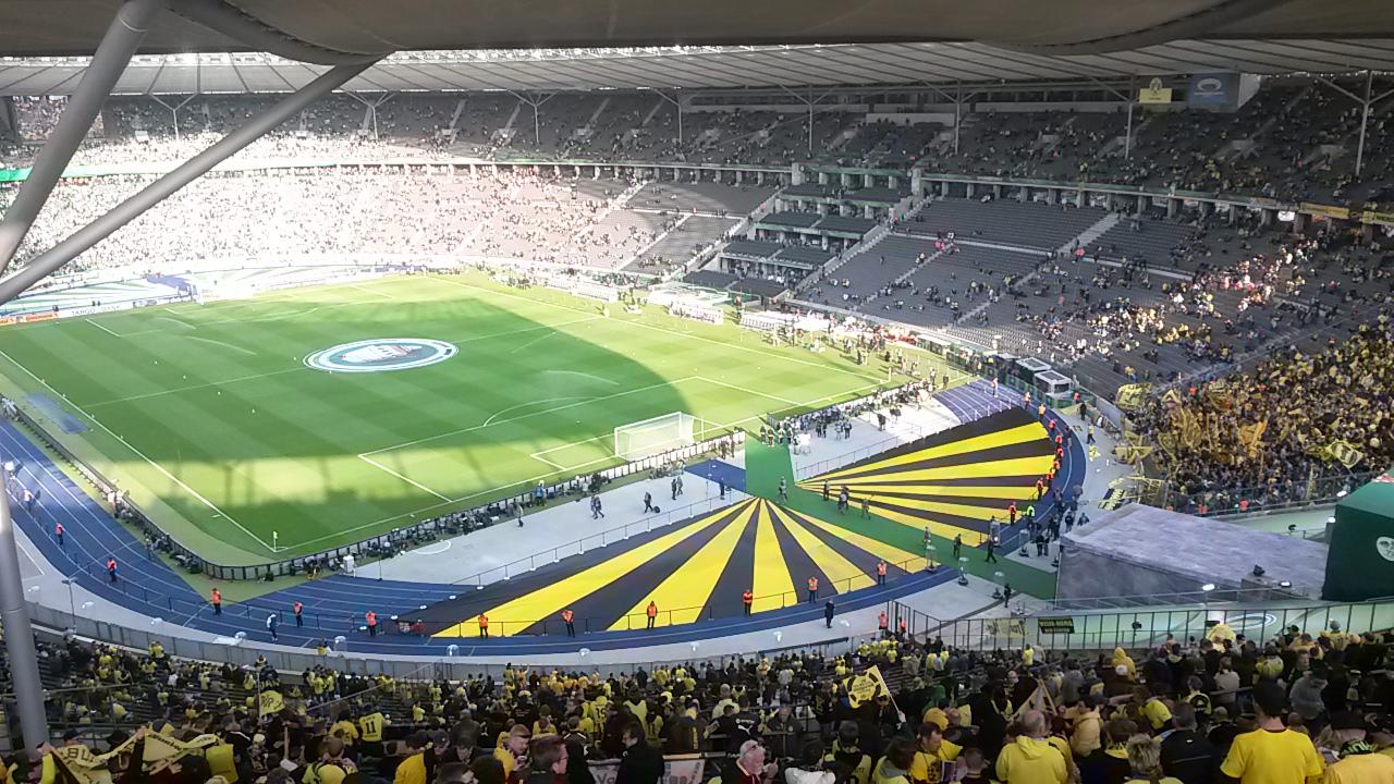 Dfb Pokalfinale 2015 In Berlin Bvb Fanatics Oppenau