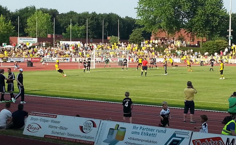 VfL Rhede – Borussia Dortmund am 03.07.2015