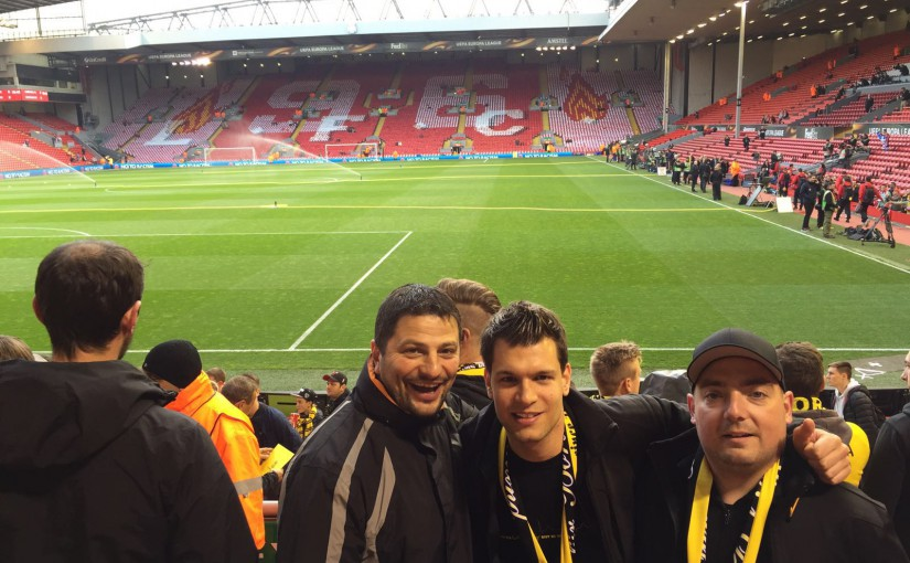 Anfield Road 14.04.2016 bis 15.04.2016