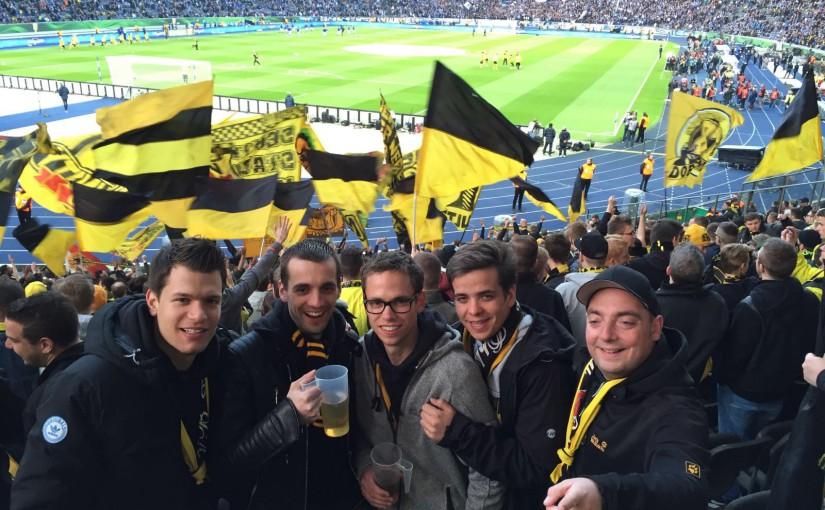 DFB-Pokal in Berlin am 20.04.2016