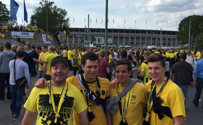 Pokalfinale in Berlin am 21.05.2016