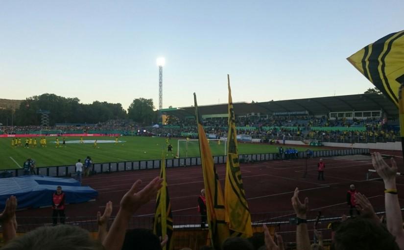 Pokal-Romantik in Trier am 22.08.2016