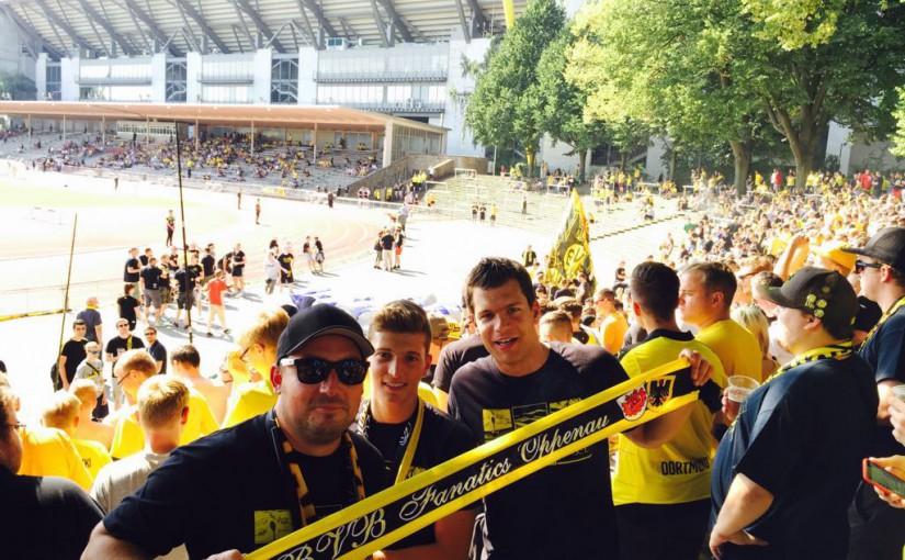 Amateure allez – Gegen RB! am 10.09.2016