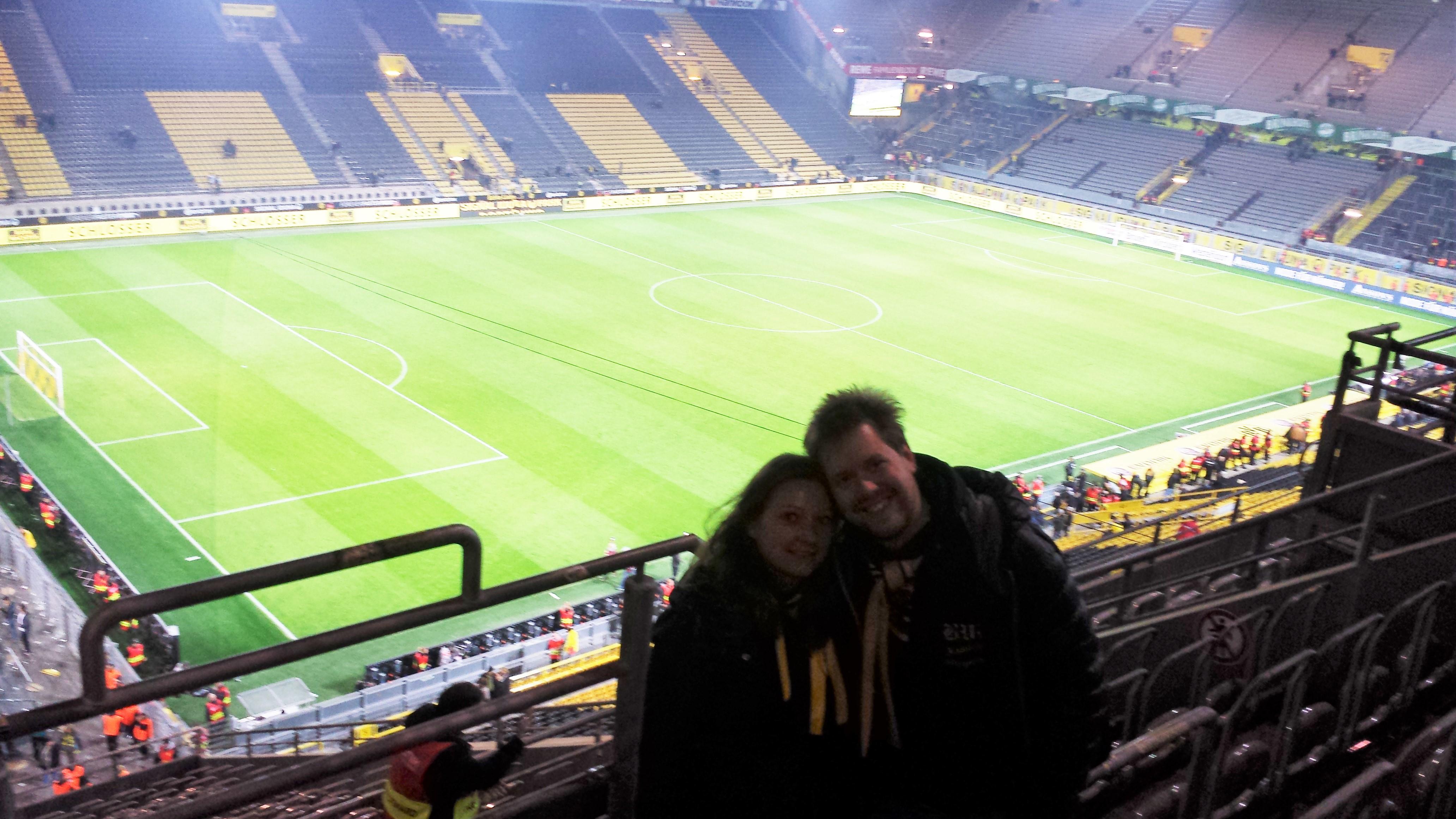 Heimspiel gegen die Hertha am 14.10.2016