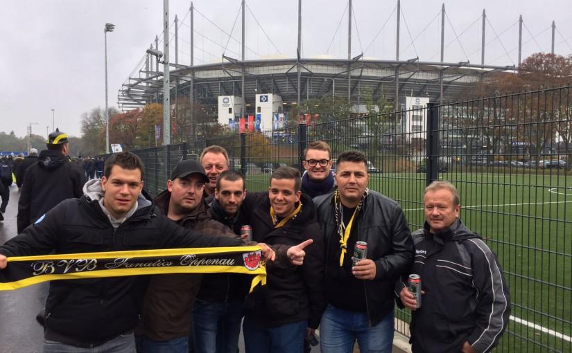 Auswärtssieg in Hamburg am 05.11.2016