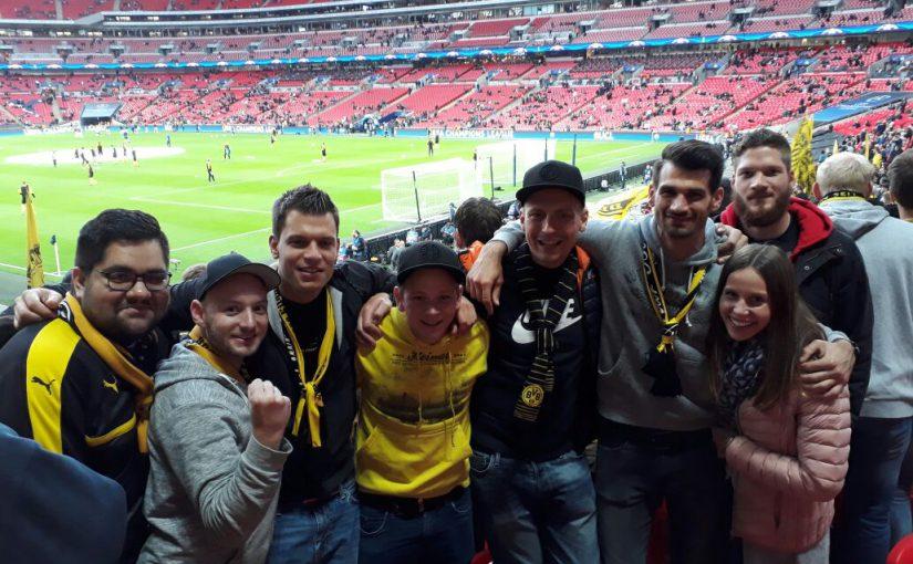 Wembley am 13.09.2017