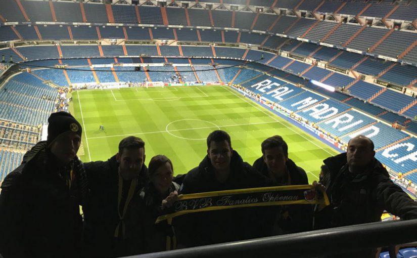Auswärts in Madrid 05.12. – 07.12.2017
