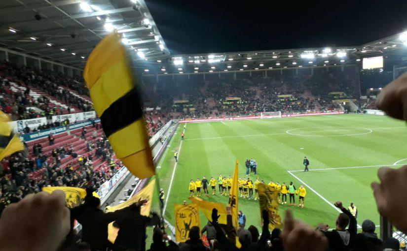 Auswärtssieg in Mainz am 12.12.2017
