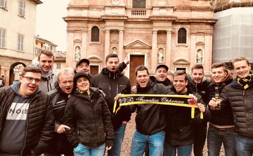Auswärts bei Atalanta Bergamo 22.02.2018 – 23.02.2018