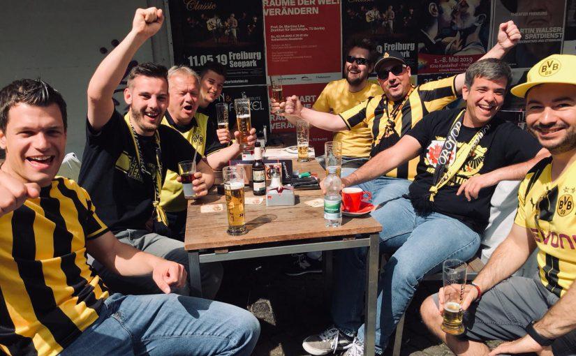 Auswärtssieg in Freiburg am 21.04.2019