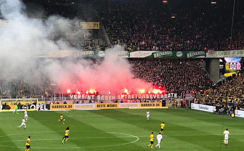 Heimsieg gegen Düsseldorf am 11.05.2019