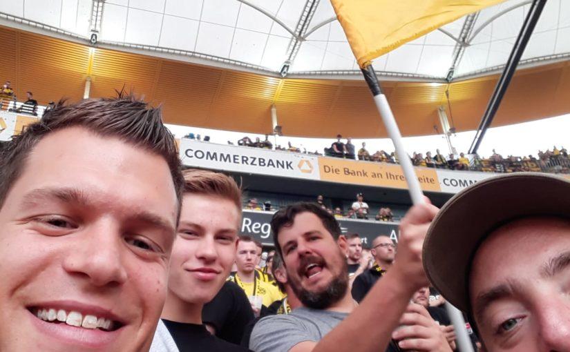 Auswärts in Frankfurt am 22.09.2019