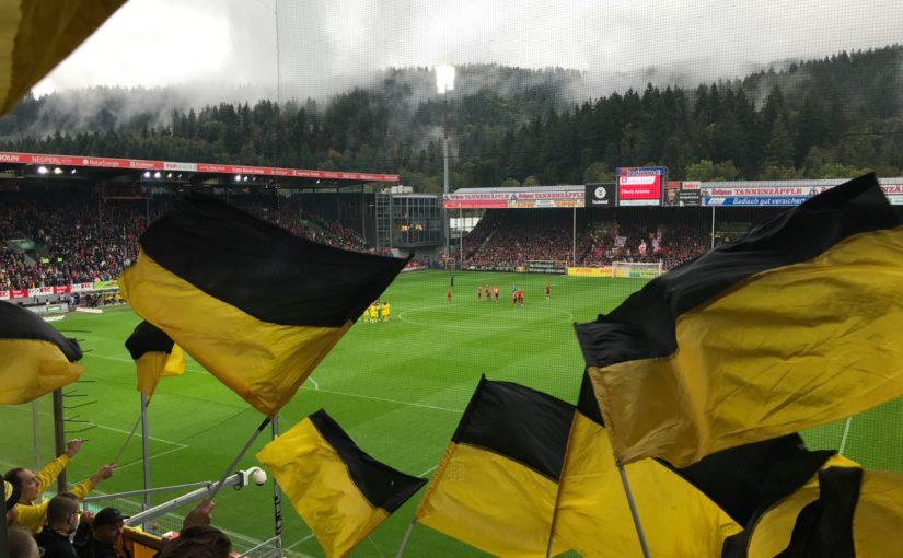 Auswärts in Freiburg am 05.10.2019