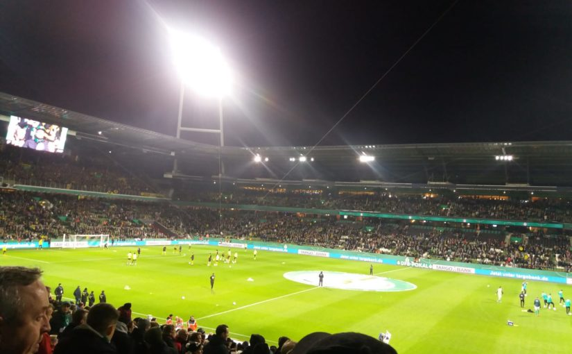Pokal-Aus in Bremen am 04.02.2020